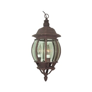 Woodbridge Lighting Basic 3-Light Outdoor Hanging Lantern