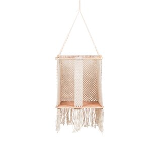 Review Abingdon Cotton Hanging Chair