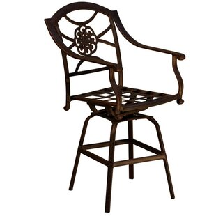 Dover Patio Bar Stool With Cushion by California Outdoor Designs Bargain