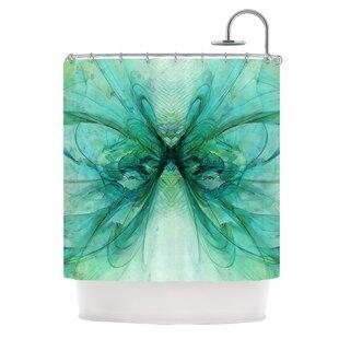 Butterfly Single Shower Curtain