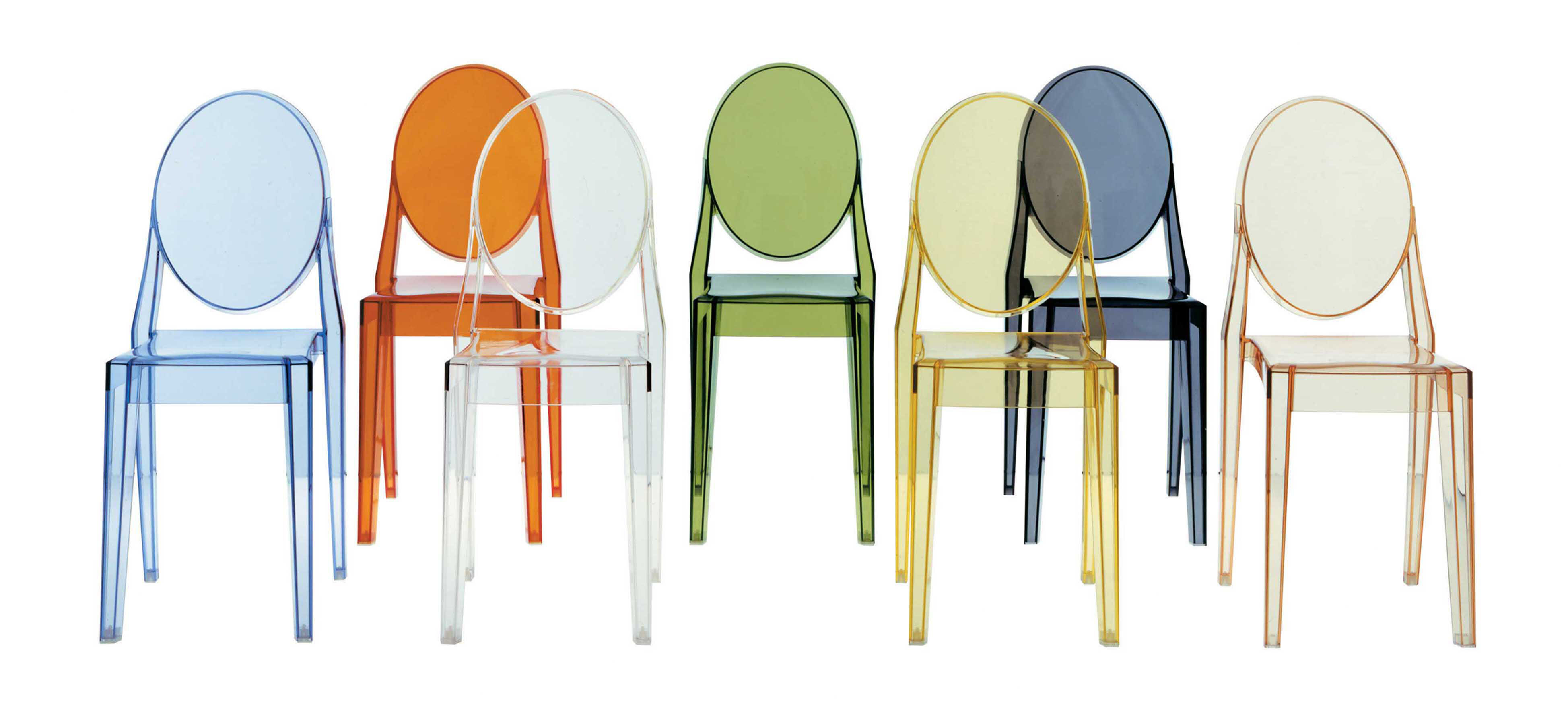 louis starck transparant kartell ghost philippe chair