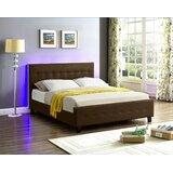 Causglen LED Upholstered Platform Bed by Ebern Designs