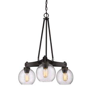 Fulton 3-Light Shaded Chandelier by Trent Austin Design