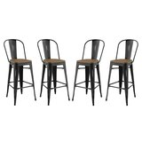 Pedro 30 Bar Stool (Set of 4) by Laurel Foundry Modern Farmhouse®