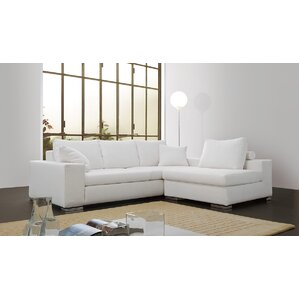 Rogers Leather Sectional by Respace