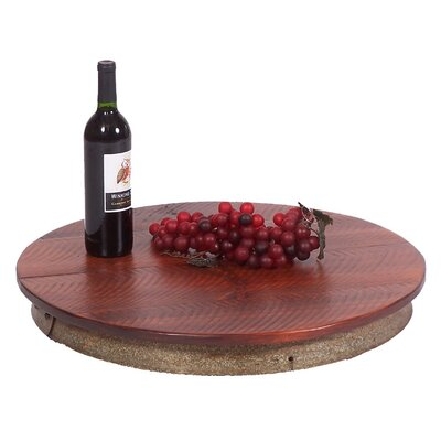 2 Day Wine Stave Laisy Daisy Lazy Susan