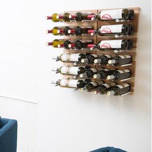 30 Bottle Wall Mounted Wine Rack by Vinta..