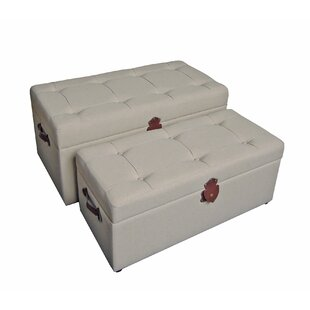 Darby Home Co Dorene Upholstered Storage Benches