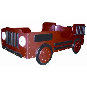 Fire Truck Toddler Car Bed by Just Kids Stuff