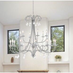 Willa Arlo Interiors Devan 18-Light Chandelier