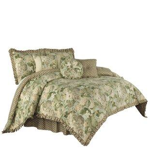 Garden Glory 4 Piece Reversible Comforter Set