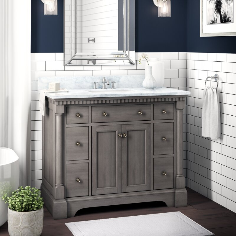 "Greyleigh Seadrift 42"" Single Bathroom Vanity Set ..."
