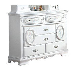 Shop For Schaub 6 Drawer Combo Dresser by Harriet Bee Reviews (2019) & Buyer's Guide