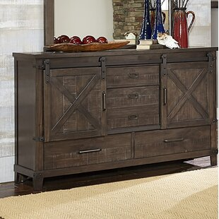 Bayaud 5 Drawer Double Dresser by Gracie Oaks