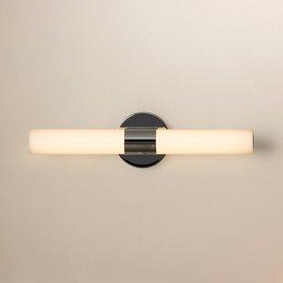 George Kovacs by Minka Saber LED 2 Light Vanity Light in Chrome