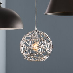 Graziani 1-Light Pendant by Turn on the Brights