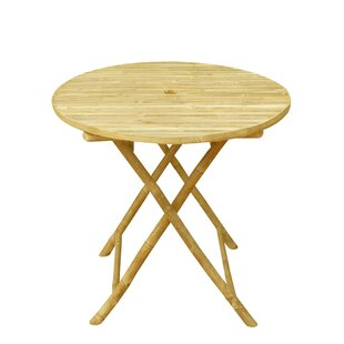 Bay Isle Home Lefka Round Folding Dining Table