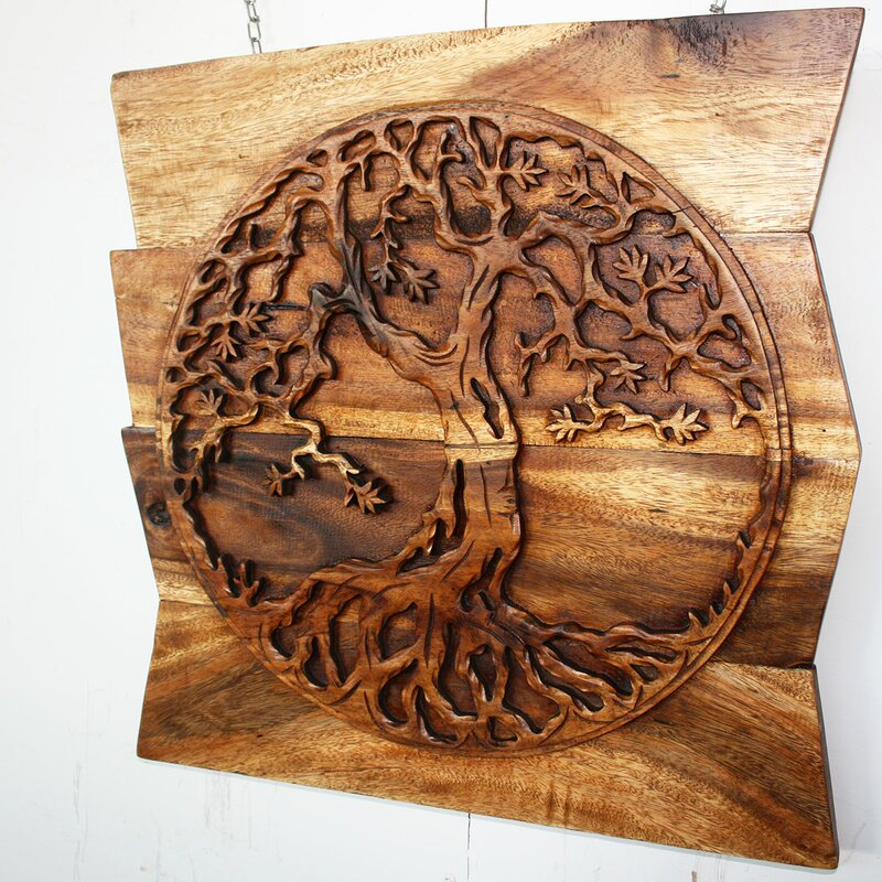 Tree Of Life Round Wall Décor