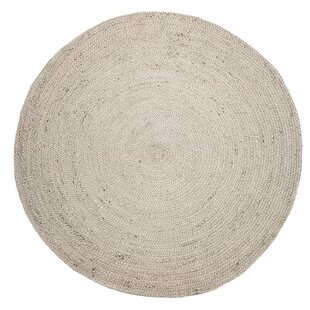 Aaron Hand-Woven Ivory Area Rug by Fjørde & Co