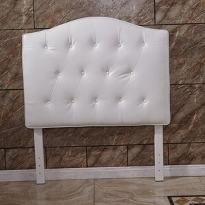 Twin Button Tufted Panel Headboard by Bellasario Collection
