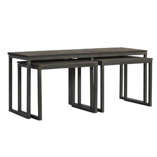 Begum 3 Piece Coffee Table Set 17 Stories