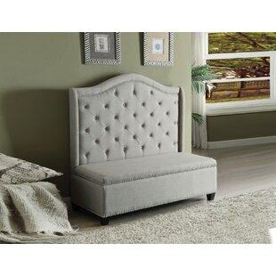 Charlton Home Roselli Fairly Storage Settee Discount Price