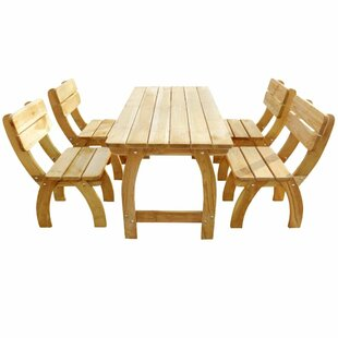 Barba 4 Seater Dining Set By Sol 72 Outdoor