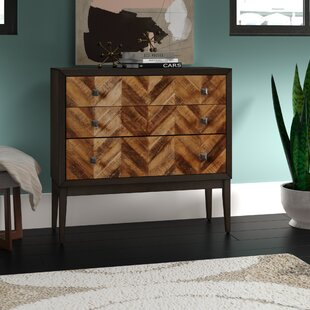 Delcastillo 3 Drawers Accent Chests by Wrought Studio