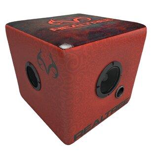 Realtree Speaker Cube Ottoman by Rainmaker Imports