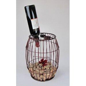 Industrial Evolution 3 Bottle Tabletop Wine Rack by Metrotex Designs