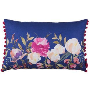 Byars Flowers Garden Lumbar Pillow