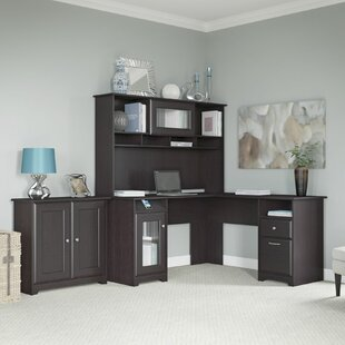 Affordable Price Hillsdale 3-Piece L-Shape Desk Office Suite By Red Barrel Studio