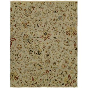 Donelson Wool Ivory Area Rug by Alcott Hill