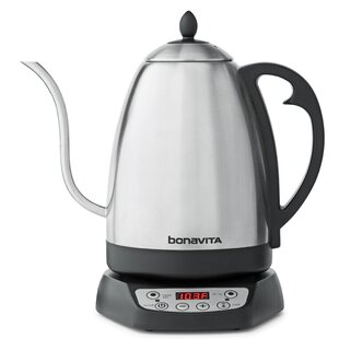 1.7L Stainless Steel Variable Temperature Electric Gooseneck Kettle