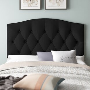 Fitz Upholstered Panel Headboard by Charlton Home