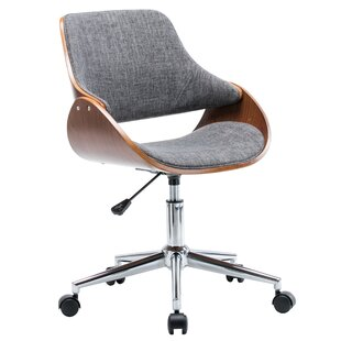 modern contemporary chairs with wheels allmodern