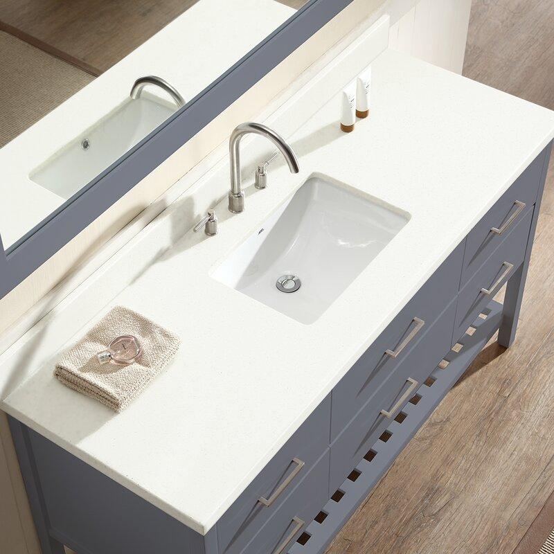 Felman 61 Single Bathroom Vanity With Mirror