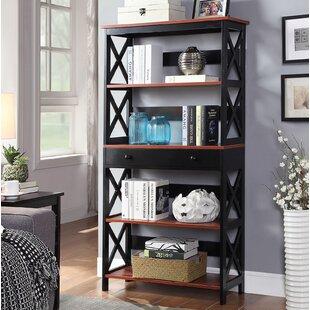 Beachcrest Home Gracelynn 5 Tier Standard Bookcase
