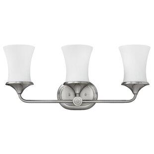 Inexpensive Thistledown 3-Light Vanity Light By Hinkley Lighting