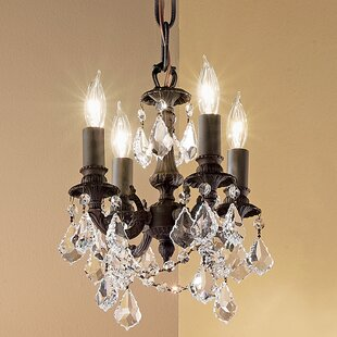 Classic Lighting Majestic Imperial 4-Light Candle Style Chandelier