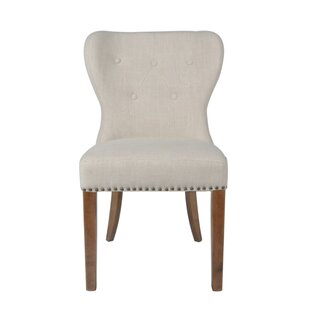 Lugo Upholstered Dining Chair (Set of 2) by Alcott Hill