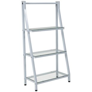 Top Reviews Navarette Ladder Bookcase by Ebern Designs