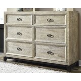 Halamay Wirebrushed Solid Wood Configurable Dresser Set by Signature Design by Ashley