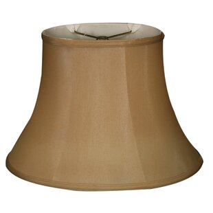 Great Price 12 Silk Bell Lamp Shade By Alcott Hill