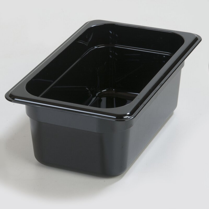 Carlisle Food Service Products Rectangle Plastic Food Storage Container