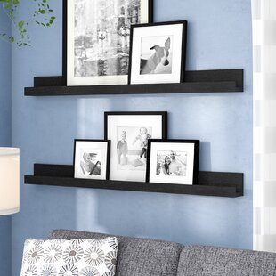 Dulin Photo Ledge Picture Display Floating Shelf