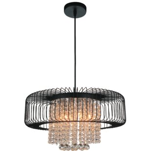 Reviews Gloria 6-Light Chandelier By CWI Lighting