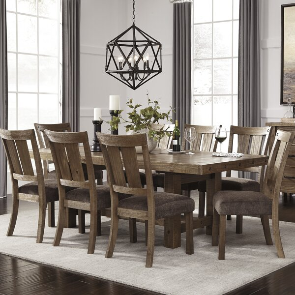 Etolin 9 Piece Dining Set Amp Reviews Birch Lane