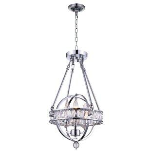 CWI Lighting Arkansas 3-Light Globe Pendant