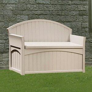 2-Sitzer Banktruhe aus Kunststoff von Suncast